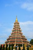 Chinesische Art des Tempels lizenzfreie stockbilder