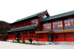 Chinesische Art-Gebäude Stockfoto