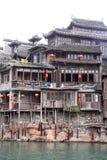Chinesische Art-Gebäude Stockfotos