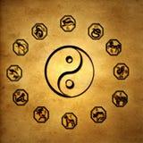 Chinesische Astrologie vektor abbildung