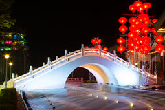 Chinesische Brücke Stockfotos