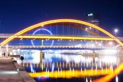 Chinesische Brücken Stockfoto