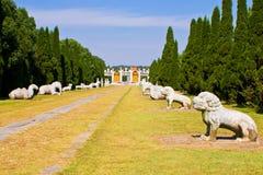 Chinesische britische Gräber der Ming Dynastie im zhongxiang   stockfoto