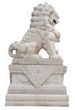 Chinesische britische Löwe-Statue Stockbilder