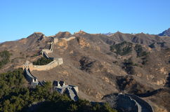 Chinesische Chinesische Mauer Lizenzfreies Stockbild