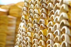 Chinesische Dachspitzen-Fliesen Stockfoto