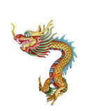 Chinesische Drachestatue Stockbild