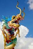 Chinesische Drachestatue Lizenzfreies Stockfoto
