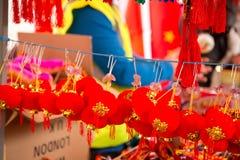 Chinesische earings Stockbild