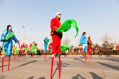Chinesische Feier des neuen Jahres Stockfotografie