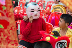 Chinesische Feier des neuen Jahres in Thailand Stockfoto