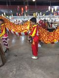 Chinesische Feiern des neuen Jahres stockfotografie