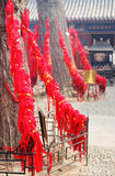Chinesische Feiern des neuen Jahres in Qingdao, China. Stockfotografie