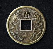 Chinesische feng shui Münze stockfotografie