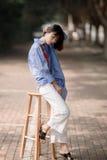 Chinesische Frau lizenzfreie stockbilder