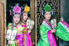 Chinesische Frau Stockfotos