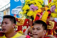 Chinesische Göttin-Feier Stockfotografie