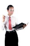 Chinesische Geschäftsfrau Stockbild