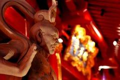 Chinesische Gott-Statue Lizenzfreies Stockfoto