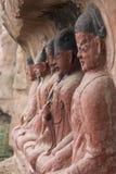 Chinesische Gottheiten stockbild