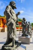 Chinesische Gottskulpturen Stockbild