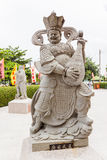 Chinesische Gottstatue, als Musiker Stockfotos