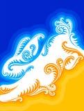 Chinesische Grußkarte des neuen Jahres mit Kaninchen 2 Lizenzfreies Stockfoto