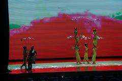 Chinesische Gymnastik Stockbild