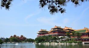 Chinesische historische Architektur stockbilder