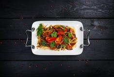 Chinesische Küche - Tigersalat stockbild