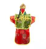 Chinesische Kimono-Wein-Flasche Lizenzfreies Stockfoto
