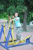 Chinesische Kindeignung stockbilder