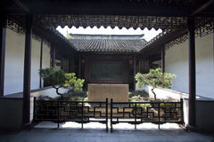 Chinesische klassische Architektur Stockbild
