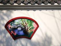 Chinesische klassische Wand lizenzfreie stockfotos