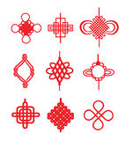 Chinesische Knoten vektor abbildung