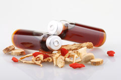 Chinesische Kräutermedizin Lizenzfreies Stockfoto