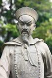 Chinesische Krieger-Statue Lizenzfreies Stockfoto