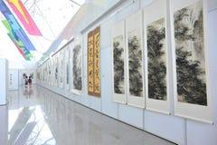Chinesische Kultur angemessen - Kunstgalerie Stockbilder