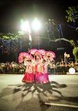 Chinesische kulturelle Gruppe Lizenzfreies Stockbild