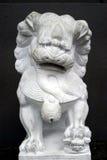 Chinesische Löwe-Statue Stockfoto