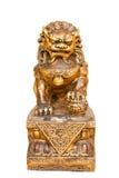 Chinesische Löwe-Statue lizenzfreie stockbilder