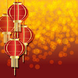 Chinesische Lampen Lizenzfreie Stockfotos