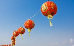 Chinesische Laternen Stockbild