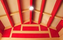 Chinesische Lichtstrahlart Stockbild