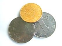 chinesische Münzen Stockfoto