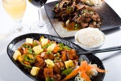 Chinesische Mahlzeit lizenzfreie stockfotografie