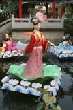 Chinesische Marionetten auf Wasser Lizenzfreies Stockfoto