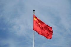 Chinesische Markierungsfahne Stockfoto