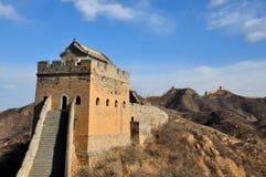 Chinesische Mauer lizenzfreies stockbild