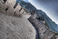 Chinesische Mauer bei Mutianyu Lizenzfreie Stockfotografie